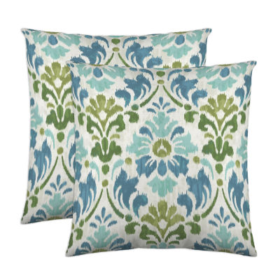 Colorfly™ Sasha 2-Pack Square Decorative Pillows