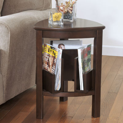 Signature Design by Ashley® Larimer Triangular End Table