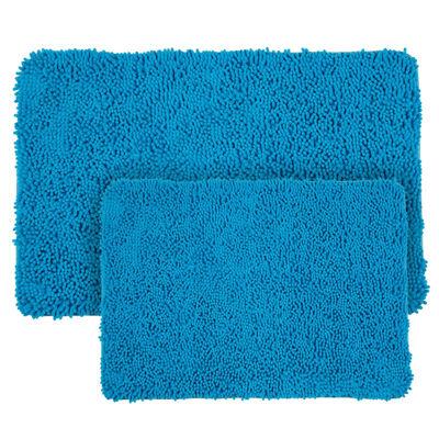Cambridge Home 2-pc. Shag Memory Form Bath Rug Set