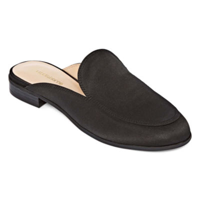 Liz Claiborne Womens Penny Mules Pointed Toe