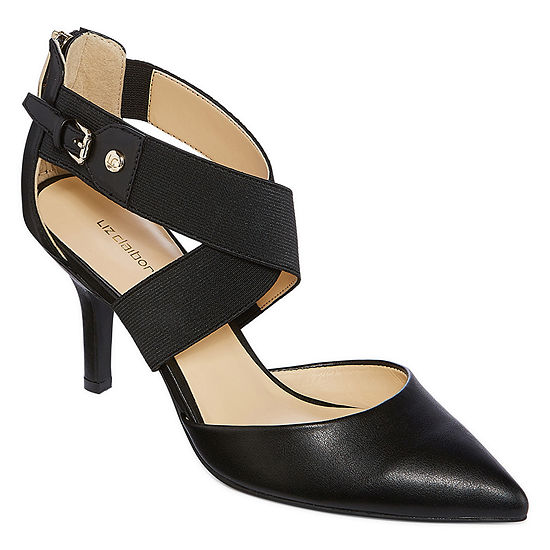 Liz Claiborne Womens Keegan Pumps Pointed Toe Stiletto Heel