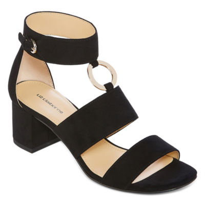 Liz Claiborne Womens Sara Heeled Sandals