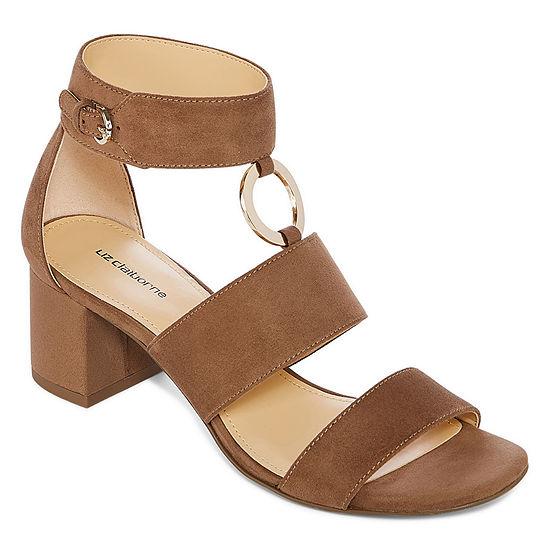 5649c8a4ca2 Liz Claiborne Womens Sara Heeled Sandals - JCPenney