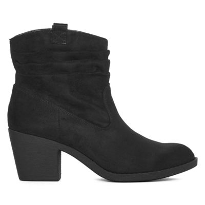Arizona Womens Gianna Booties Block Heel