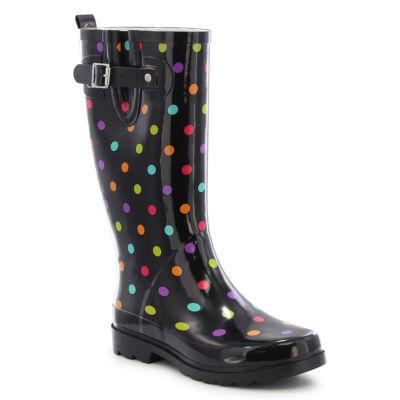 Western Chief Dot City Womens Waterproof Rain Boots