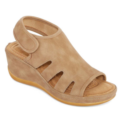 St. John's Bay Francine Womens Wedge Sandals