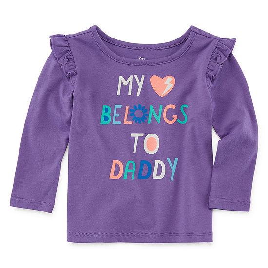 Okie Dokie Baby Girls Long Sleeve T-Shirt