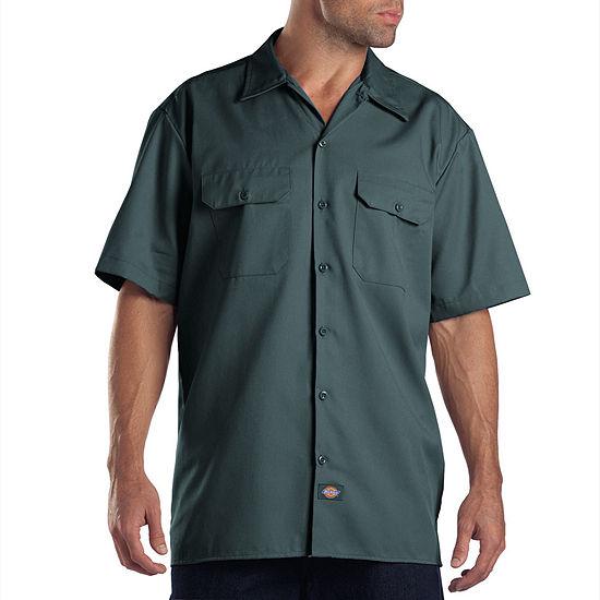 9da3d510 Dickies Short Sleeve Work Shirt JCPenney
