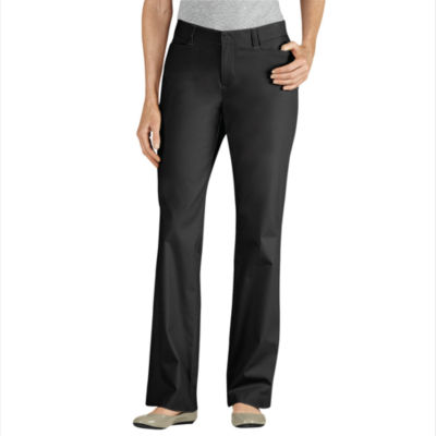 Dickies® Curvy-Fit Straight-Leg Stretch Twill Pants