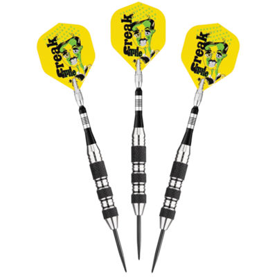 Viper The Freak Steel Tip Darts Knurled And SharkFin Barrel 22 Grams
