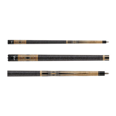 Viper Sinister Series Cue With Black White Wrap