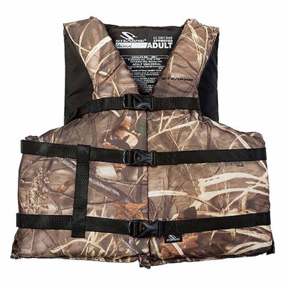 Stearns Pfd 2001 Cat Adult Boating Universal Life Vest