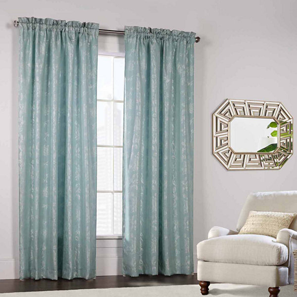 Lucy Rod-Pocket Curtain Panel