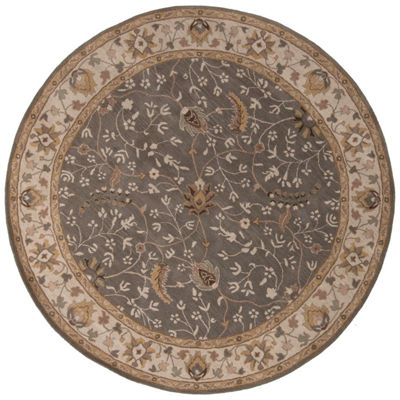 Decor 140 Elam Hand Tufted Round Indoor Rugs