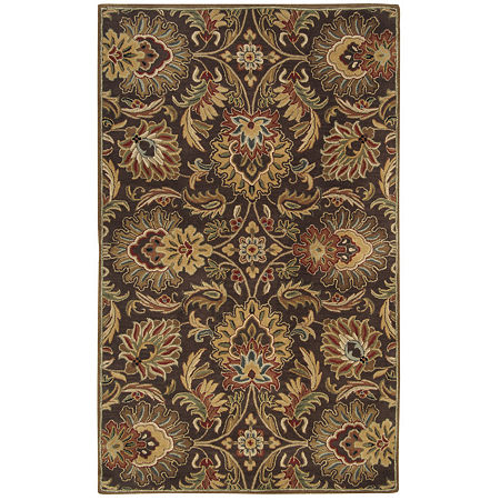 Decor 140 Vitrolles Hand Tufted Rectangular Indoor Rugs, One Size , Brown