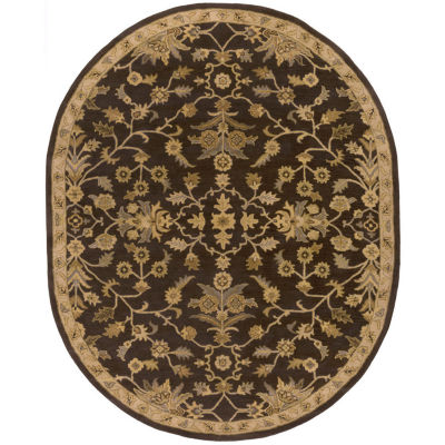Decor 140 Zoddrin Hand Tufted Oval Rugs