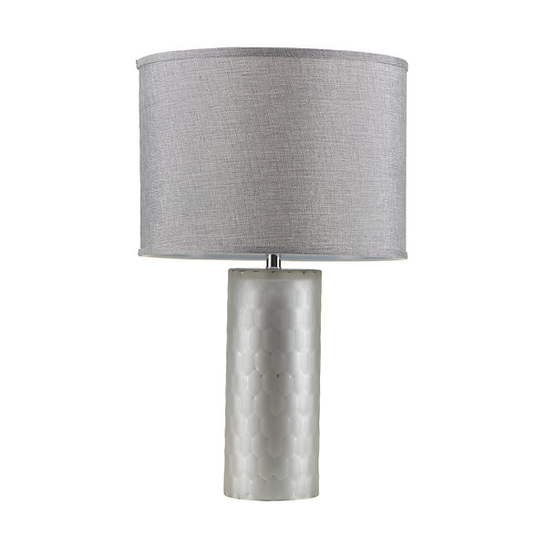 Madison Park Deco Honeycomb Table Lamp