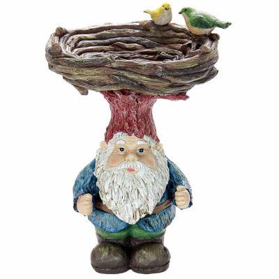Gnome Hat Bird Bath