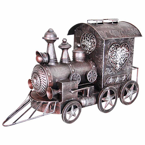 Metal Train Figurine
