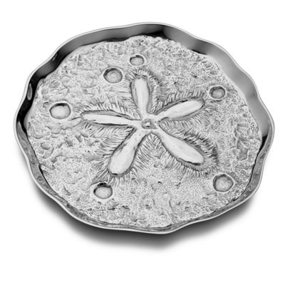 Wilton Armetale Sand Dollar Serving Tray