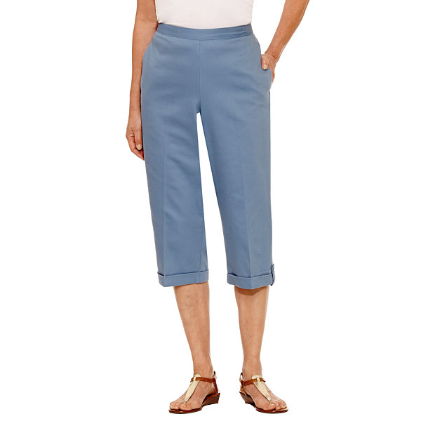 Alfred Dunner Blue Lagoon Capris Petites