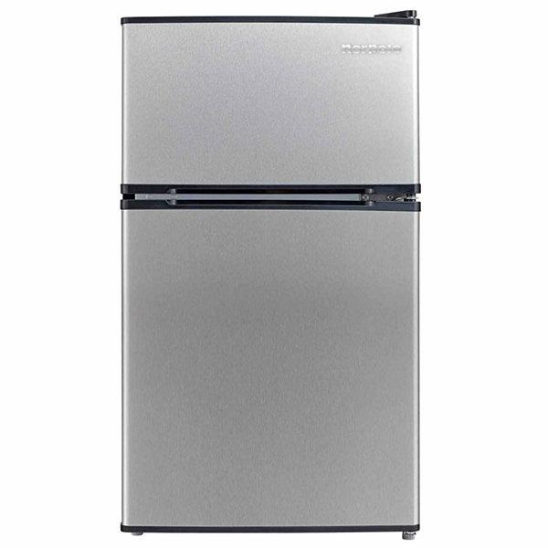 Attirant 2 Door Mini Refrigerator