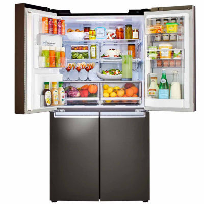 LG ENERGY STAR® 22.7 cu.ft. 4-Door Refrigerator with Door-in-Door®