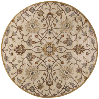 Decor 140 Albi Hand Tufted Round Indoor Rugs