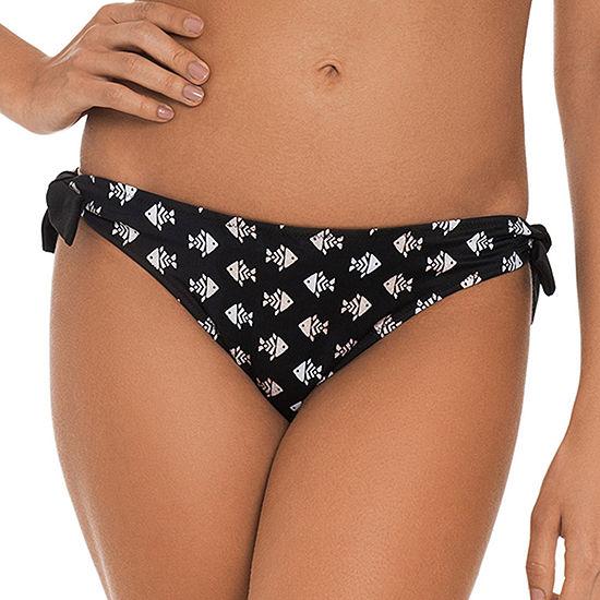Shorely Reversible Animal Hipster Bikini Swimsuit Bottom