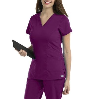 Barco® Grey's Anatomy™ 41452 Women's V Neck Scrub Top-Plus