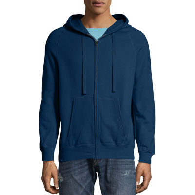 Hanes Mens Nano Lightweight Full-Zip Hoodie