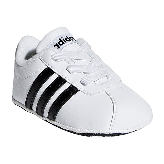 Adidas Vl Court 2.0 Crib Baby Unisex Kids Lace-up Running Shoes
