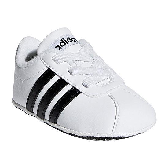 obtener online más tarde comprar más nuevo Adidas Vl Court 2.0 Crib Baby Unisex Kids Lace-up Running Shoes ...