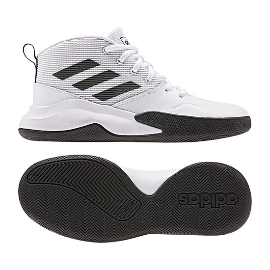 adidas Adidas Own The Game K Wide Boys Lace-up Running Shoes