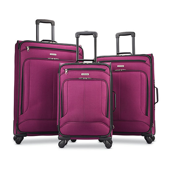 American Tourister Pop Max 3-pc Lightweight Luggage Set