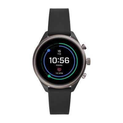 Fossil Q Sport 41mm Unisex Black Smart Watch-Ftw6024