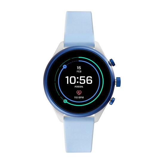 Fossil Smartwatches Sport 41mm Unisex Blue Smart Watch-Ftw6026
