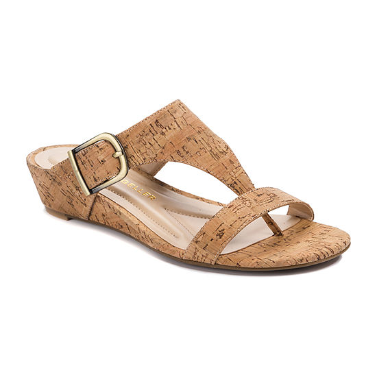 Andrew Geller Womens Ag Iwin Wedge Sandals