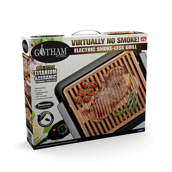 Gotham Steel Smokeless Grill Jcpenney Color Copper