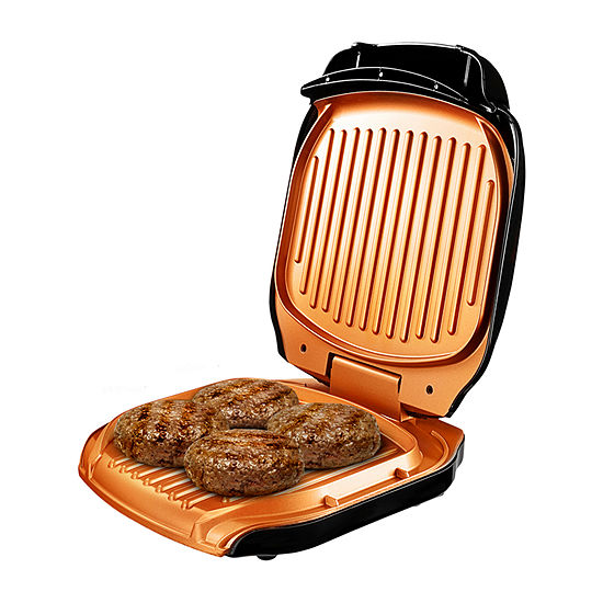 Gotham Steel Electric Low-Fat Sandwich Folding Grill