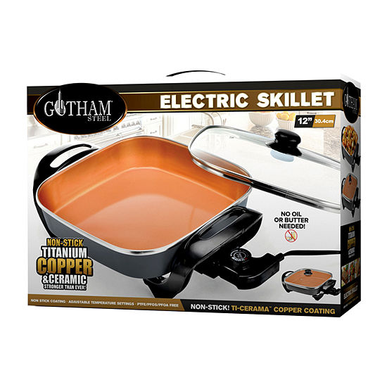 Gotham Steel Indoor Electric Skillet
