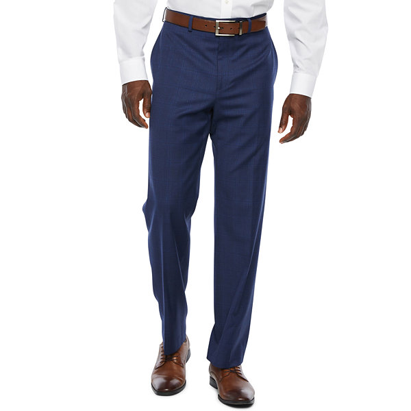 Collection by Michael Strahan  Plaid Classic Fit Stretch Suit Pants