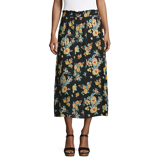 by&by Womens Mid Rise Maxi Skirt - Juniors