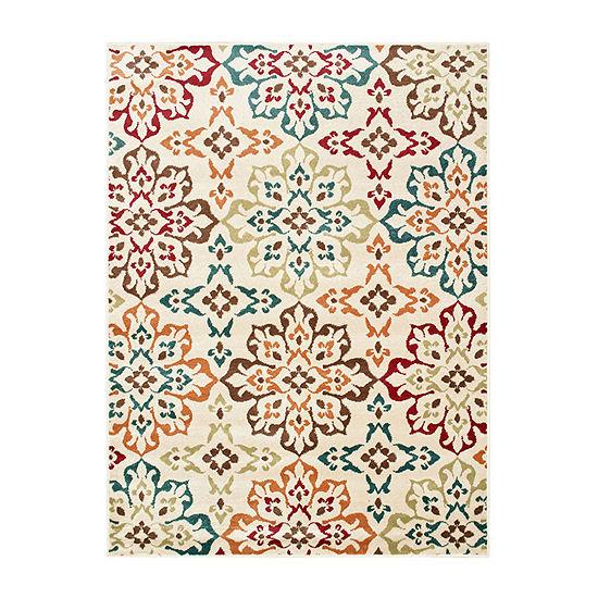 Covington Home Raylan Floret Rectangular Indoor Rugs