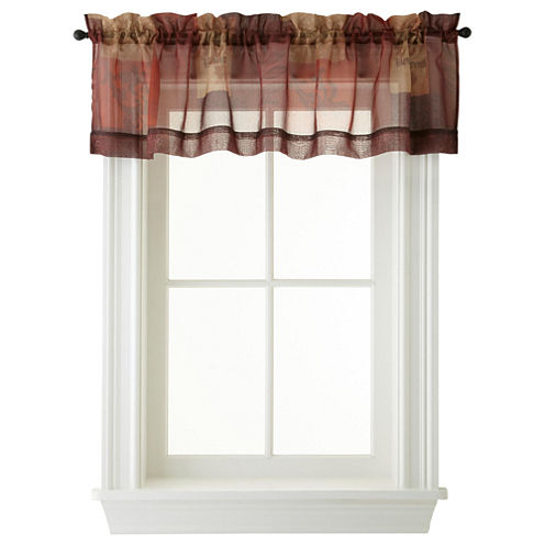 Eden Rod-Pocket Valance