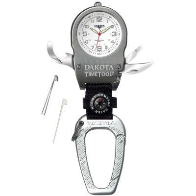 Dakota Men's Time Tool Carabiner Watch, White 79738