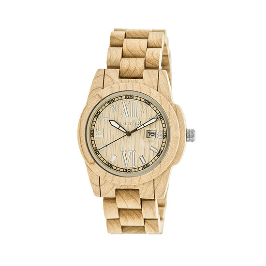 Earth Wood Khaki Bracelet Watch