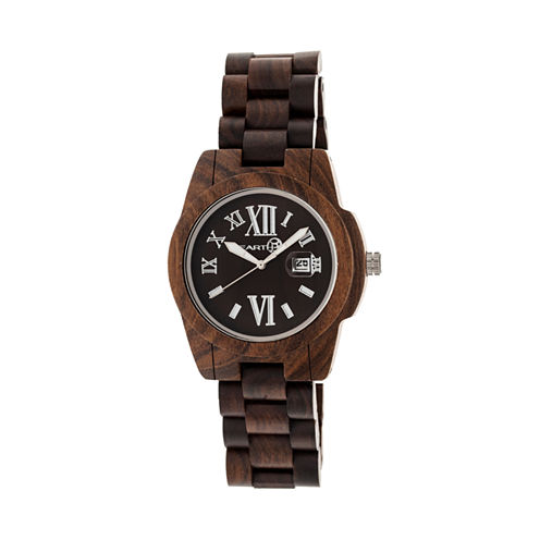 Earth Wood Brown Bracelet Watch
