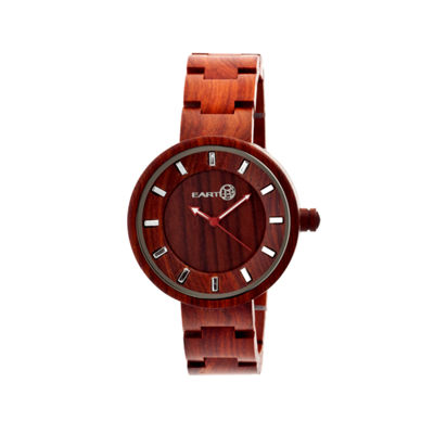 Earth Wood Root Red Bracelet Watch ETHEW2503