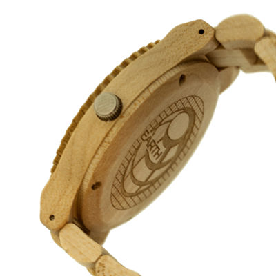Earth Wood Bighorn Khaki Bracelet Watch ETHEW3501